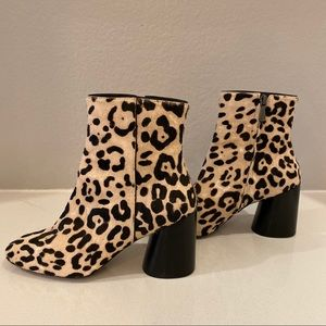 Linea Paolo animal print booties